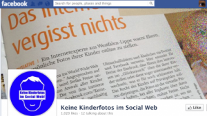 Facebook: Warum Kinderbilder nicht in soziale Netzwerke gehören