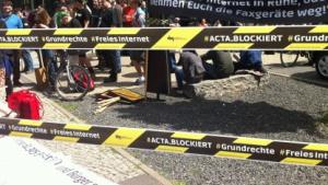 Acta-Aktionstag am 9. Juni in Berlin