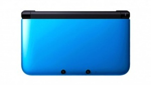 Nintendo 3DS XL in blau