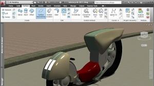 Screenshot aus AutoCAD 2011