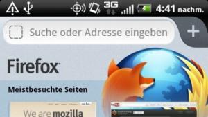 Firefox 14 für Android mit nativen UI
