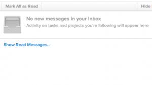 Asana führt die Inbox ein