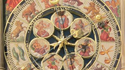 Astronomische Uhr am Heilbronner Rathaus