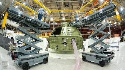 Orion MPCV: Erstflug bis in 5.800 Kilometer Höhe