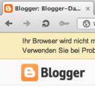 Blogger: Google unterstützt Opera teilweise nicht mehr