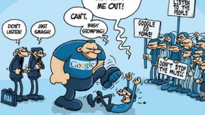 Cartoon von Philip Matesanz