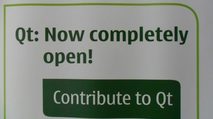 Umdenken bei der Entwicklung von Qt 5.0.