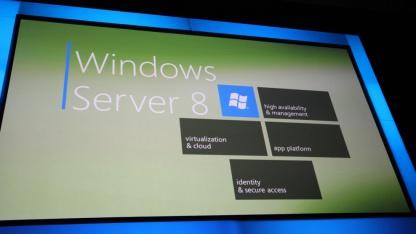 Windows Server 8 wird nach der Zahl der physischen CPUs lizenziert.