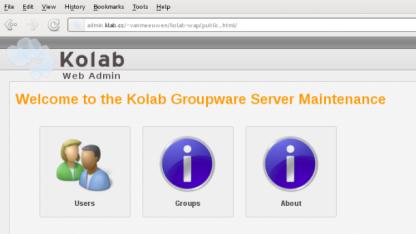 Die neue Verwaltungsoberfläche von Kolab 3 kann bereits in Kolab 2.4 genutzt werden.