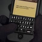 Kickstarter: Tastatur für das iPhone liegt auf dem Bildschirm