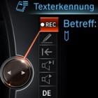 Spracherkennung: Der 7er BMW bittet während der Fahrt zum E-Mail-Diktat