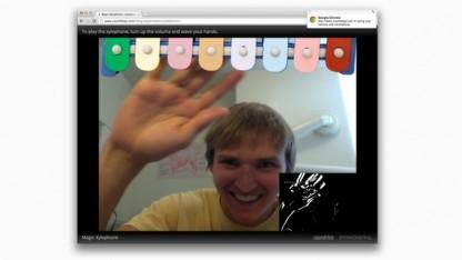 Kamerazugriff in Chrome 12