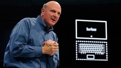 Microsoft-Chef Steve Ballmer