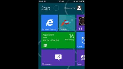 Die Metroon-Theme verpasst dem iPhone ein Windows-8-Metro-UI.