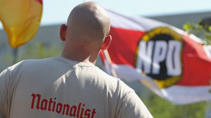 Die NPD nutzt die sozialen Netzwerke als Rekrutierungsplattformen.