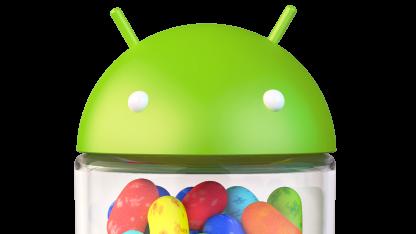 Das Update auf Android 4.1.1 auf Jelly Bean wird in den USA verteilt.