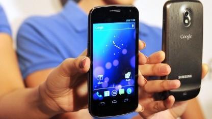 Vorstellung des Galaxy Nexus im Oktober 2011