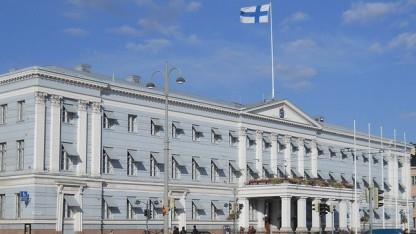 Das Rathaus in Helsinki