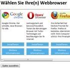 """Microsoft: Fehlende Browserwahl war """"technischer Fehler"""""""