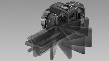 Panasonic Lumix G5 mit dreh- und klappbarem Touchscreen