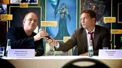 Thomas Dlugaicyk (links) und Philipp Haußmann (rechts) (Foto: Michael Wieczorek)