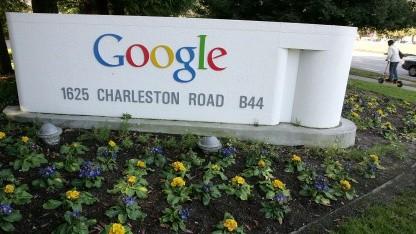 Am Google-Hauptsitz