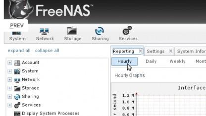 FreeNAS 8.2 unterstützt Plugins.