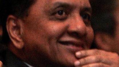 Der indonesische Industrieminister Mohamad Suleman Hidayat im Jahr 2005