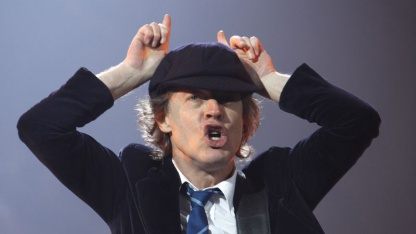 AC/DC-Gitarrist Angus Young: Thunderstruck in voller Lautstärke