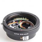 Adapter: Canon-Objektive mit Blendensteuerung an Micro-Four-Thirds