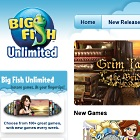 Big Fish Unlimited: Plattformübergreifendes Spiele-Streaming im Abo
