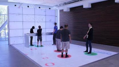 Mit Interactive Spaces lassen sich Räume interaktiv gestalten.