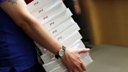 Apple verkauft 17 Millionen iPads.