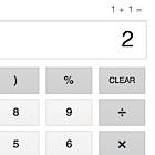 Google: Wissenschaftlicher Taschenrechner als Suchergebnis