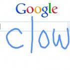 Handwrite: Google-Suche mit krakeliger Handschrift