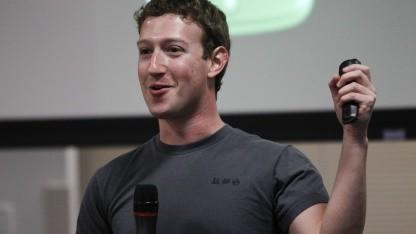 Facebook-Chef Mark Zuckerberg im November 2010