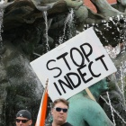 """Proteste: """"Indect bedeutet Überwachung ohne Maß und Ziel"""""""