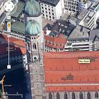 Google Maps und Earth: Londons Olympiapark und München mit HD-Satellitenbildern
