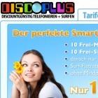 Smartphone-Tarif: Datenflatrate mit Freiminuten und Gratis-SMS für 1,95 Euro