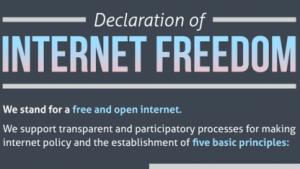 Erklärung über die Freiheit des Internets