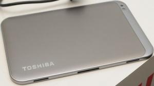 Toshibas 7,7-Zoll-Tablet kommt im September 2012 auf den Markt.