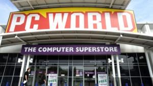 Die britische Ladenkette PC World