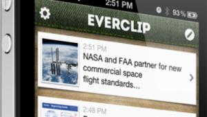 Everclip als Bindeglied zwischen Evernote und der Zwischenablage von iOS