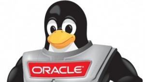 Tux in Rüstung - das Maskottchen von Oracle Linux