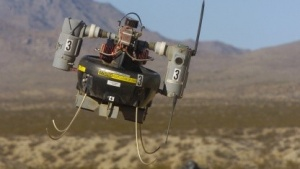 Mindrohne RQ-26 T-Hawk: Das Konzept stimmt, die Lautstärke nicht