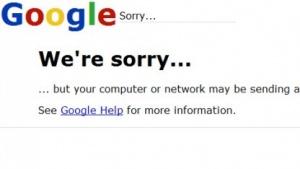 Google zeigt keine Suchergebnisse.