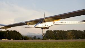 Landung in Payerne: Starke Winde verinderten Starts