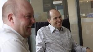 Marc Andreessen (links) und Ben Horowitz