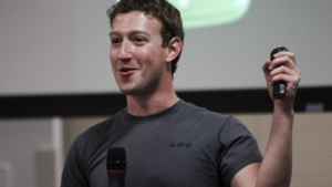 Facebook-Chef Mark Zuckerberg im November 2010