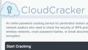 Mit Cloudcracker lassen sich DES-verschlüsselte MS-CHAPv2-Passwörter auslesen.